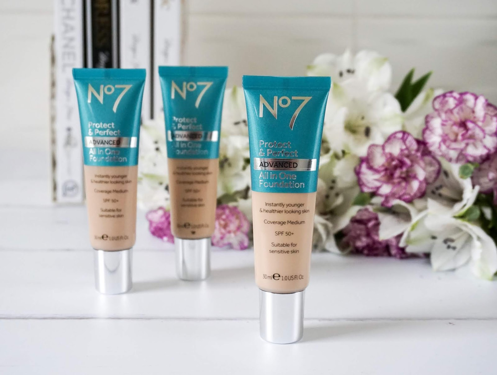 No7 Protect & Perfect All In One foundation