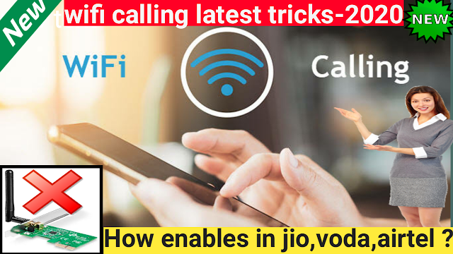 Wi-Fi Calling |How to active Wifi Calling Up on your phone-2020