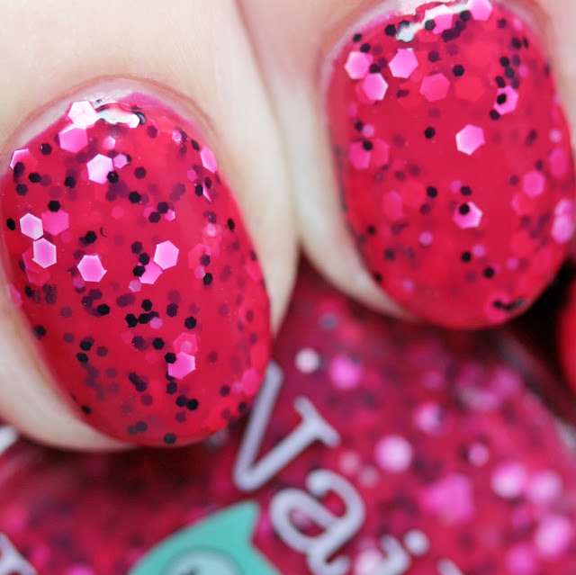Nail Hoot Indie Lacquers Strawberry Shortcake