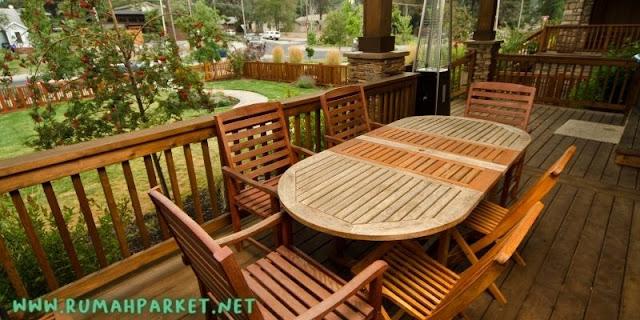 Tipe Lantai Kayu outdoor