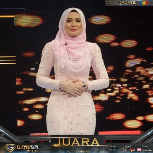 Fatin juara Clever Girl Malaysia 2016, pemenang Clever Girl Malaysia 2016, Clever Girl pertama Malaysia, fatin gadis terpintar Clever Girl Malaysia