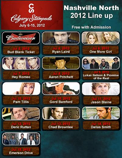Chiefmoon Entertainment Buzz 2012 Calgary Stampede