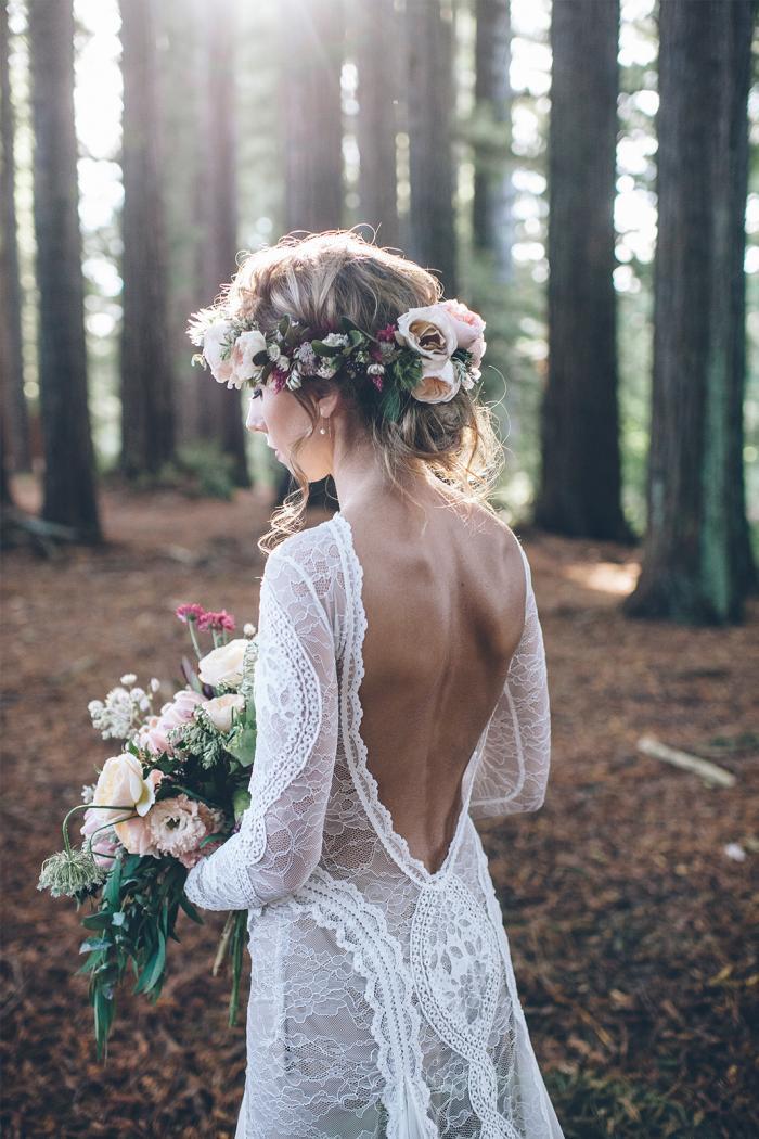 e89dd94730cd Brud~ Bal och Festklänningar : Boho hippie brudklänningen du inte ...