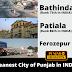 Bathinda cleanest in Punjab, Patiala on Rank 2nd