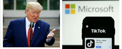 Trump's demand for cut of Microsoft-TikTok deal