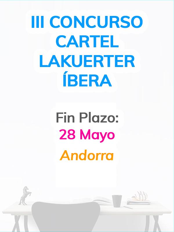 III Concurso Cartel Lakuerter Íbera
