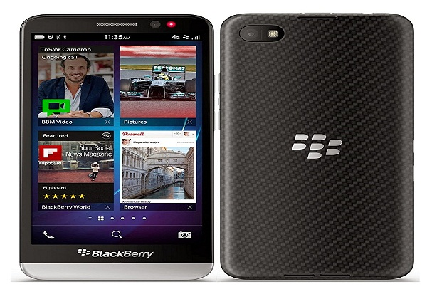 Blackberry phone Z30 supports shipping Wireless