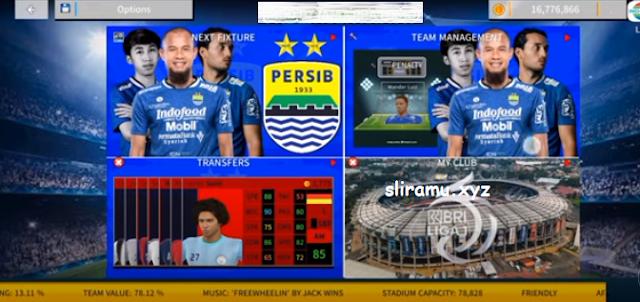 DLS 22 Mod Persib Bandung New Update Kits & Transfer Pemain 2021-2022