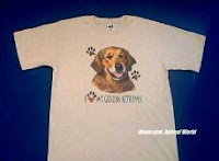 golden retriever lover dog t shirt