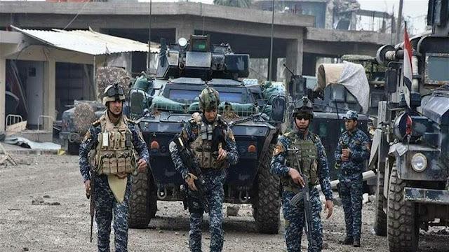 پۆلیسی فیدڕاڵی : ٥٠ کیلۆمەتر چوارگۆشە لە باشووری کەرکووک لە چەکدارانی داعش پاک کراوەتەوە