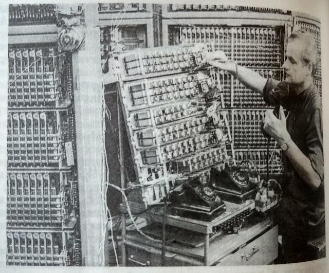 1962 год. Испытание автоматических телефонных линий на заводе ВЭФ.