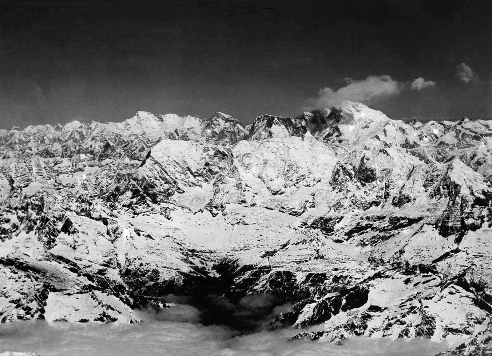 Everest seen from the south.