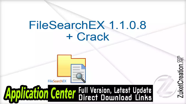 FileSearchEX 1.1.0.8 + Crack