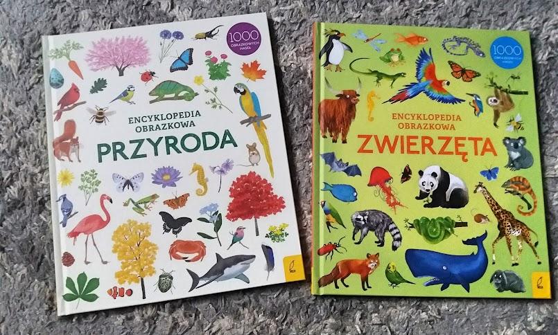 """Seria """"Encyklopedia obrazkowa. Przyroda"""" i """"Zwierzęta"""""""