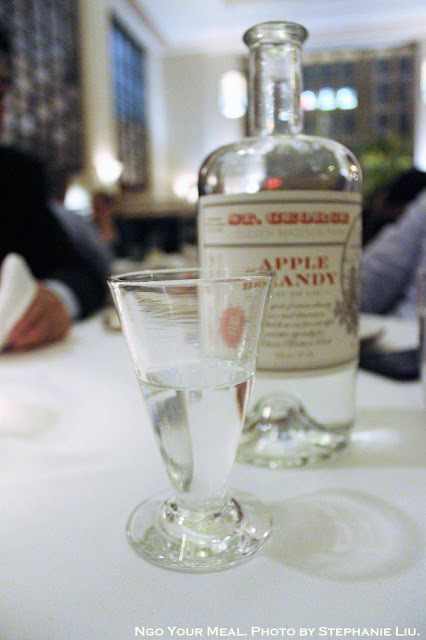 St. George Apple Brandy at Eleven Madison Park in New York City