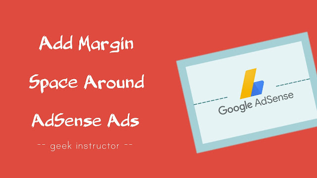 Add margin space around AdSense ads