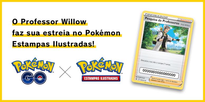 Carta Prof Willow Pokémon TCG
