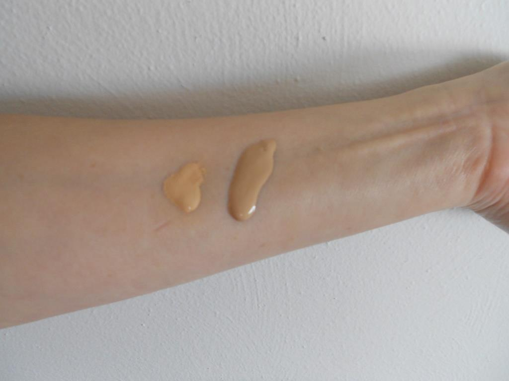 swatches of Serene Light Skin Perfector and Skin Soul Drops.jpeg