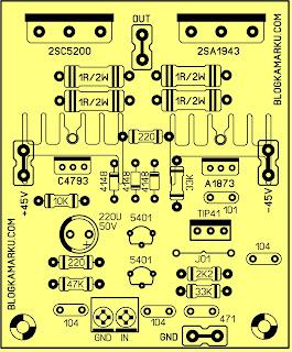 Driver Amplifire Rakitan Untuk Sound Sederhana