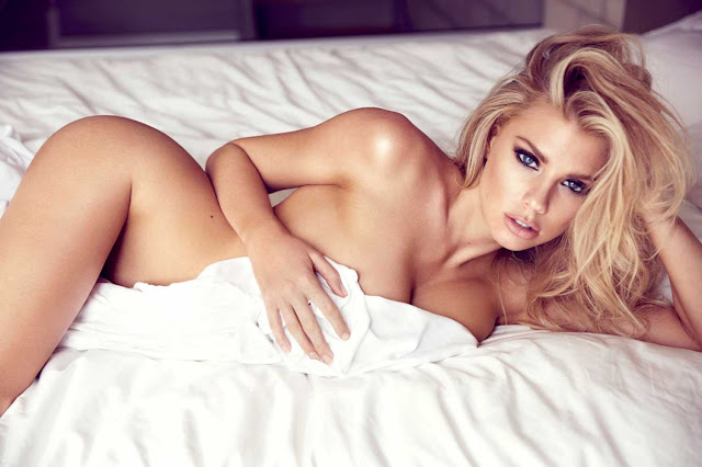 Charlotte McKinney bares it all for new photoshoot