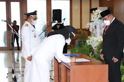 Safitri Malik Soulisa Takes Oath as Regent of South Buru