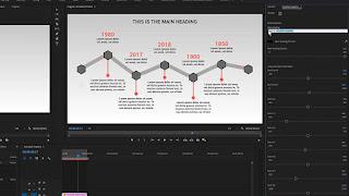 تصميم infographics متحرك ببرنامج Adobe Stock