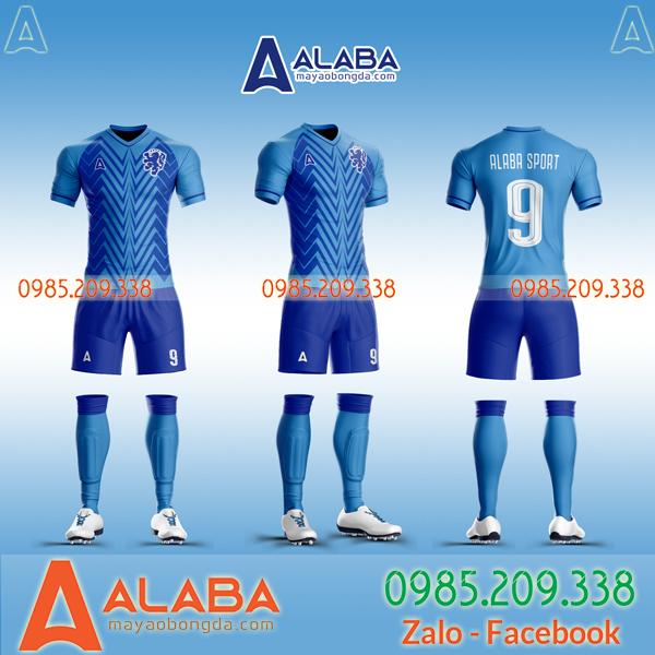 Áo bóng đá Hà Lan xanh