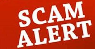 वर्ड Ponzi Scam पोंजी स्कैम फ्रॉड दिखाते हुए टेक्स्ट