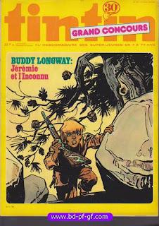 Tintin numéro 45, 1976, Buddy Longway