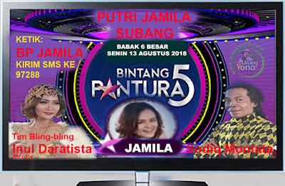PUTRI JAMILA Subang Bintang Pantura 5 Indosiar   babak 6 Besar