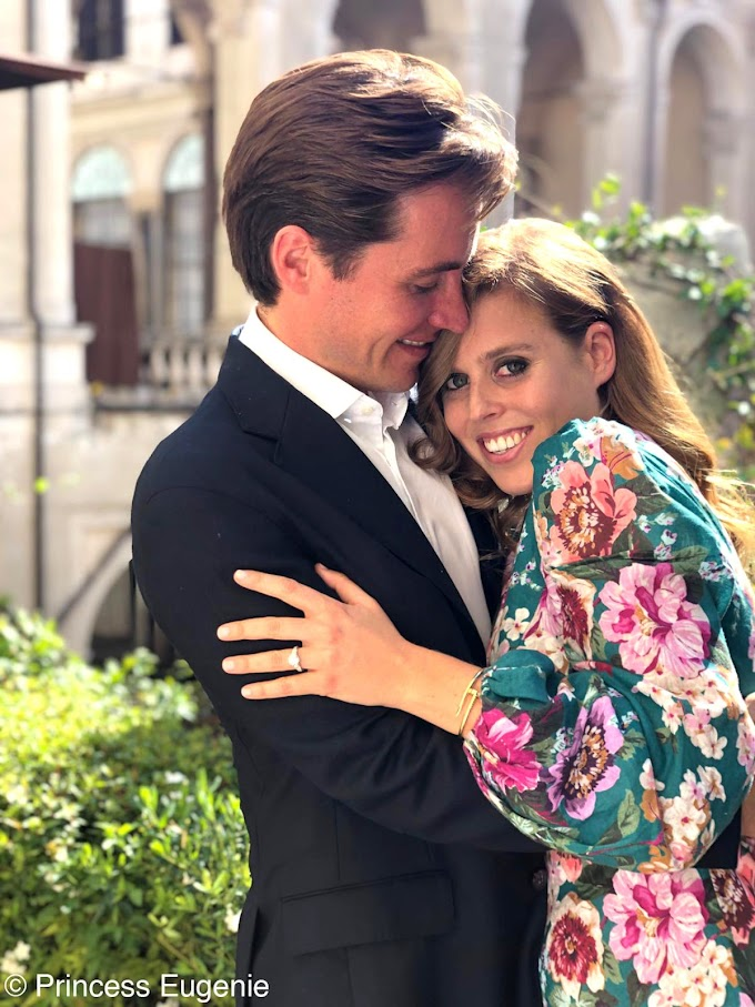 Princess Beatrice marries Edoardo Mapelli Mozzi in secret in front of Queen