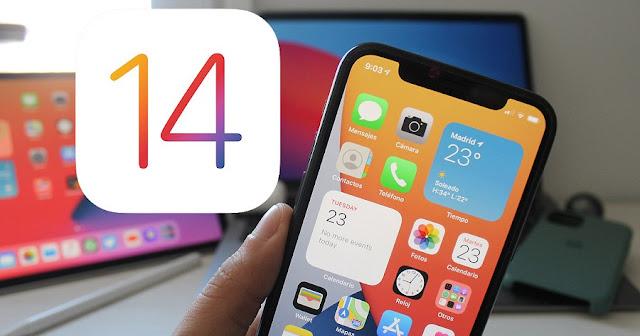 iPhone dengan iOS 14