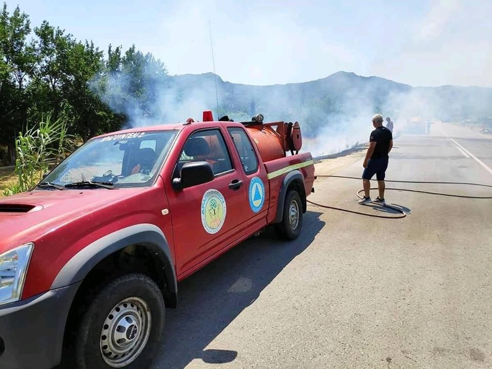 Δύο φωτιές ξέσπασαν μέσα σε λίγες ώρες στη Χαλκιδική