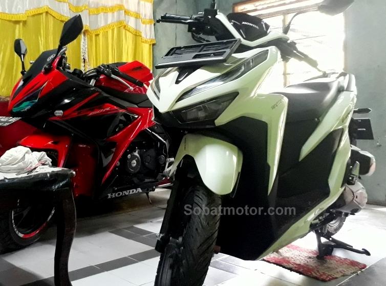 Belum dilaunching, All New Honda Vario 150 2018 ini sudah sampai ditangan konsumen kota Medan !