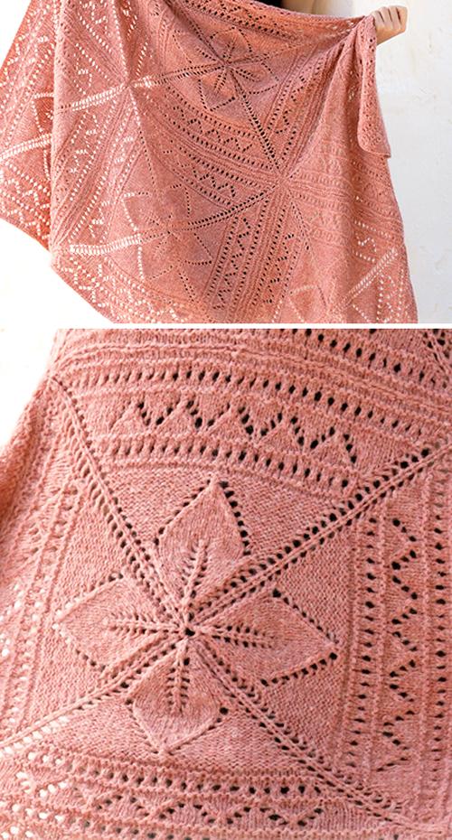 Sweet Nordic Rose - Free Knitting Pattern