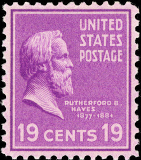 Rutherford B. Hayes 19 cent