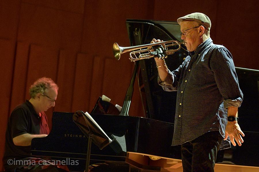 Uri Caine i Dave Douglas, Auditori del Conservatori del Liceu, Barcelona, 20-oct-2019
