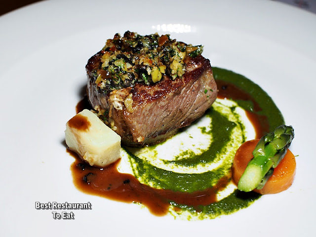 Cono Sur Wine Pairing Dinner Menu - Medallion of Rib Eye