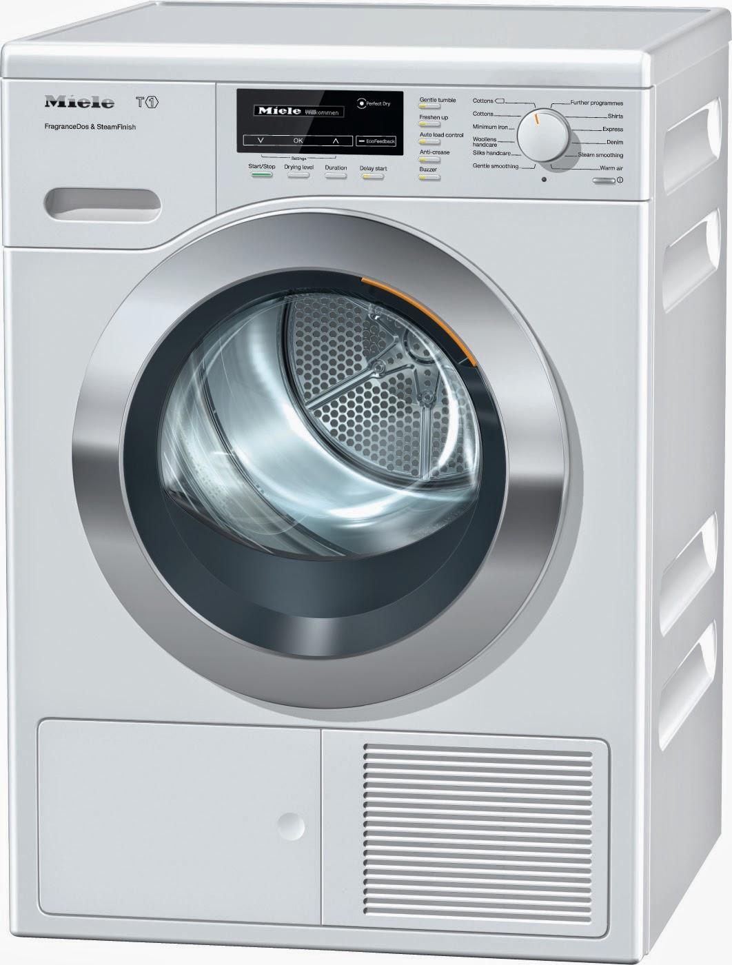 Buy Washing Machine: Miele T1 Heat Pump Tumble Dryers