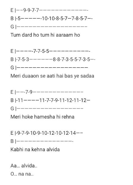 Janam Janam Tabs Dilwale Guitar Tabs / Janam Janam Lead – Dilwale (2015)Hindi Songs Tabs / Best of Bollywood