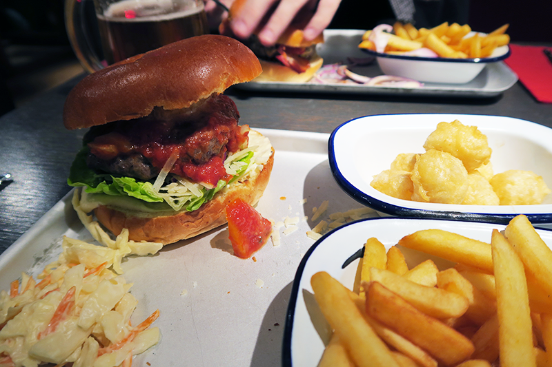 Ketchup Glasgow Burgerthon Review | Colours and Carousels - Scottish Lifestyle, Beauty and Fashion blog
