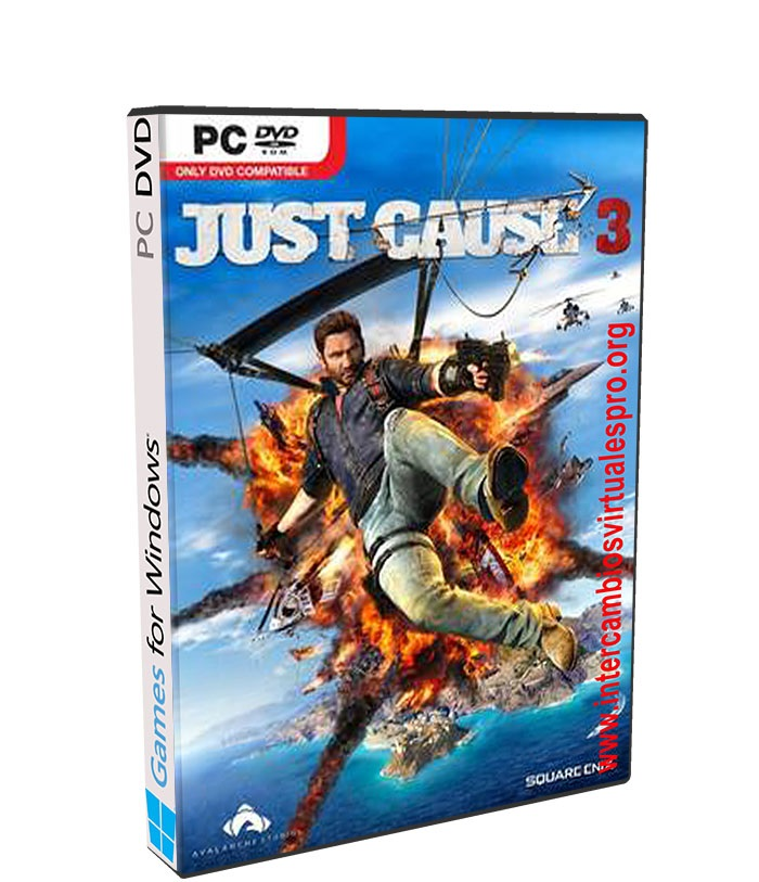 Just Cause 3 poster box cover