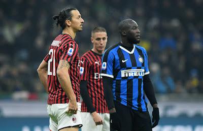 التشكيل الرسمي لديربى الإنتر ضد ميلان في ربع نهائي كأس إيطاليا
