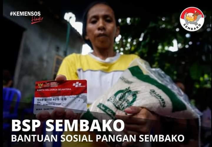 Bantuan Sosial BPNT / BSP Sembako Tidak Cair Setelah Ganti KKS Baru, simak penjelasannya disini !!