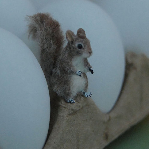 29-Squirrel-ReveMiniatures-Miniature-Animal-Sculptures-that-fit-on-your-Hand-www-designstack-co