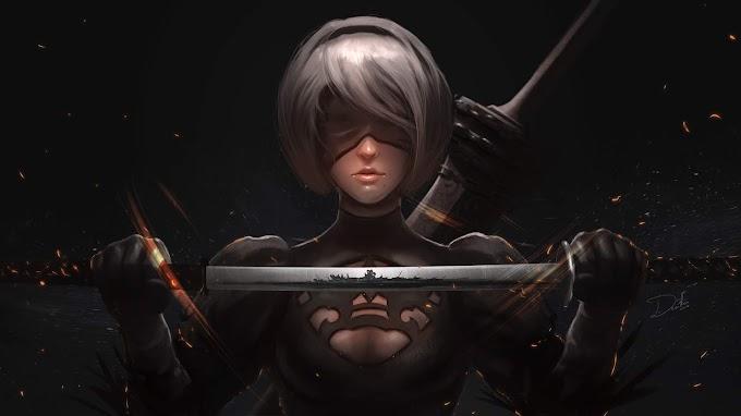 Guerreira, 2b Nier Automata, Espada