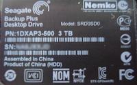 Backup Plus 3TB