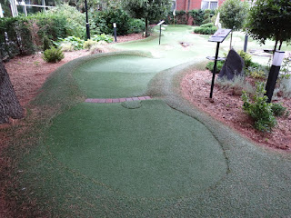 Ryder Legends Mini Golf course at The Belfry in Sutton Coldfield