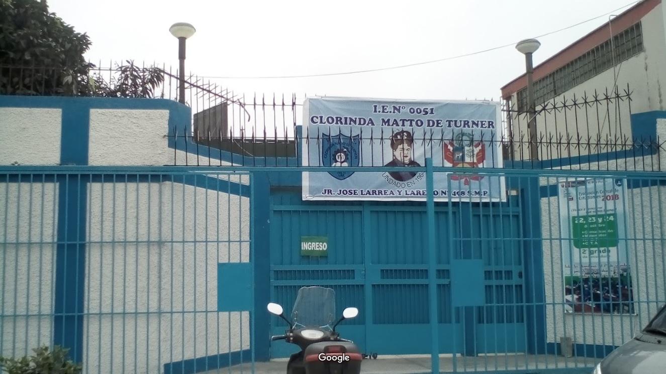 Colegio 0051 CLORINDA MATTO DE TURNER - San Martin de Porres