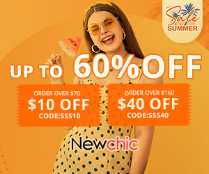 NewChic CLICK for up 60% Discount
